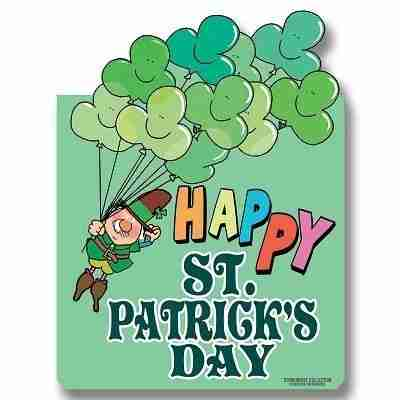 Happy St Patrick's Day Yard Sign 18 x 24 inch