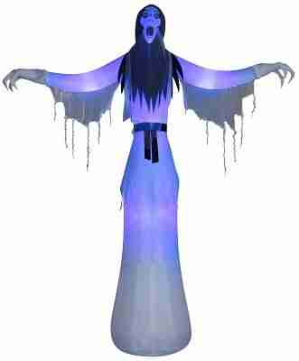 12 ft inflatable female ghost