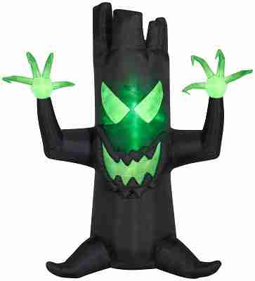 7 ft inflatable haunted tree