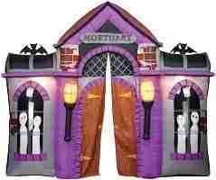 Halloween Inflatable Haunted Archway With Lights