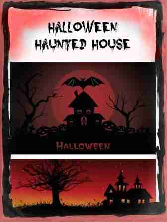 Inflatable Halloween Haunted House Yard Decor Ideas