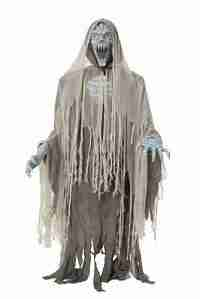 "70"" life size animated ghost zombie"
