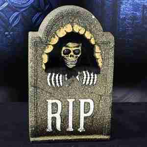 Halloween-Voice-and-Touch-Control-Horror-Simulation-Electric-Skull-Tombstone-Props