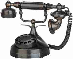Spooky Telephone Victorian Style