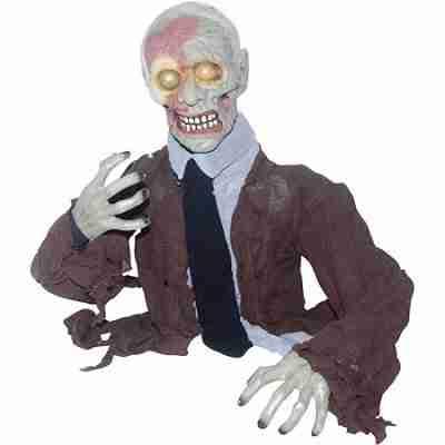 2 ft 3 inch Groundbreaker Zombie Halloween Decoration