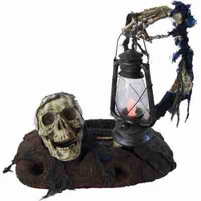 3ft Halloween Ground Breaker with Lantern