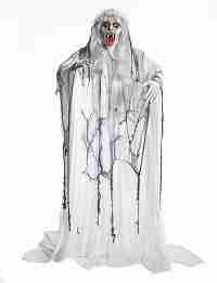6 feet Hanging Vampire Bride Halloween Life Size Prop Halloween Decoration