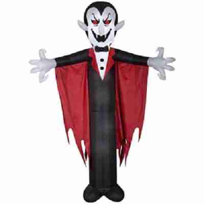 Halloween Airblown Inflatable Vampire with Cape 12FT Tall