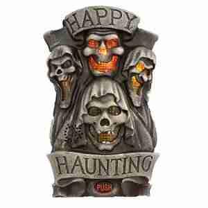 Happy Haunting Door Greeter