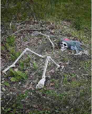 Light Up Skeletal Remains Groundbreaker