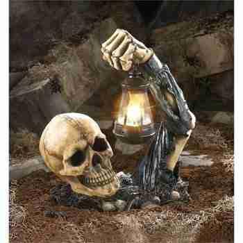 Sinister Skull Lantern