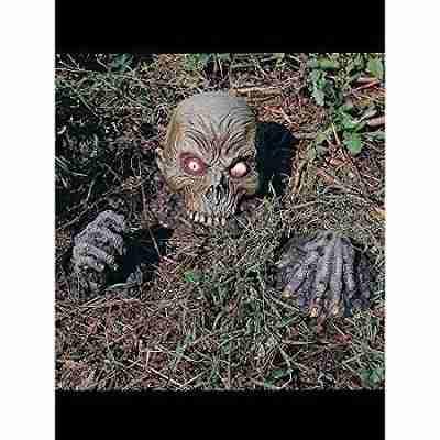 Skull On Jaws Ground Breaker Set Halloween Decoration