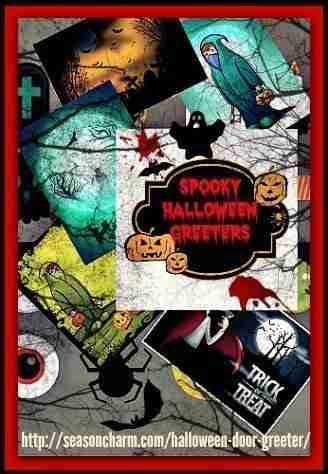 Spooky Halloween Door Greeters