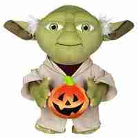 Star Wars Yoda Plush Halloween Porch Greeter