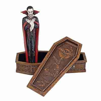 Vampire Coffin of Dracula Statue