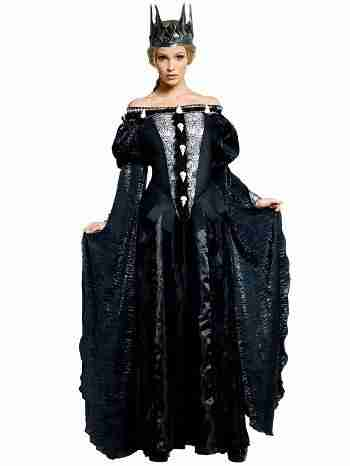 Deluxe Ravenna Skull Dress Costume for Women
