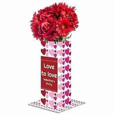 Hearts & Love Personalized Centerpiece
