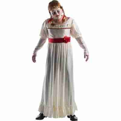 Adult Deluxe Annabelle Doll Horror Costume