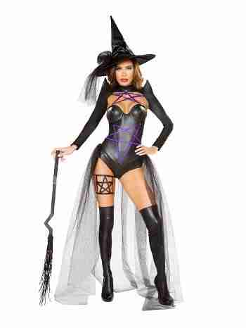 Dark Witch Sexy Costume