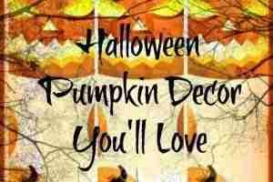 Indoor Halloween Pumpkin Decoration Ideas