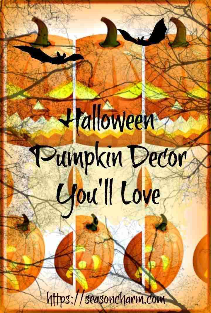 Indoor Halloween Pumpkin Decoration Ideas