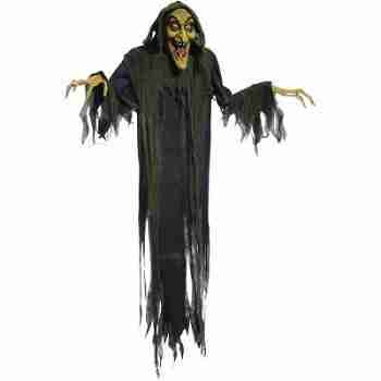"Hanging Witch 72"" Animated Halloween Decoration"