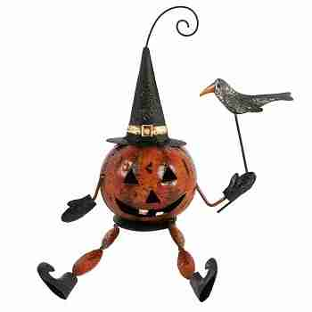 Jackolantern-Pumpkin Man Sitting Decoration