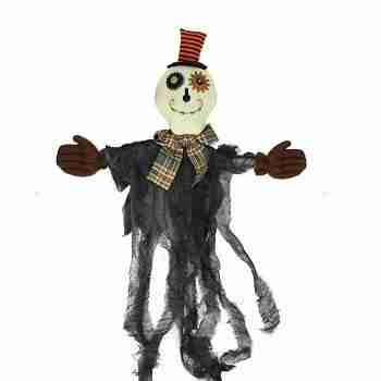 Musical Lighted Eerie Shaking Ghost Hanging Halloween Decoration