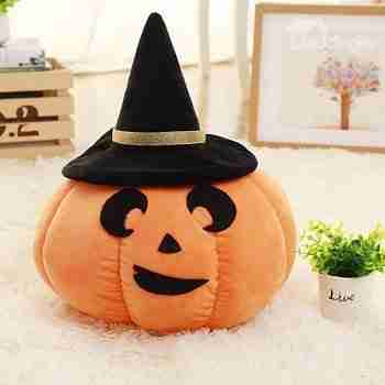 Pumpkin Cotton Halloween Decoration Funny Pillow