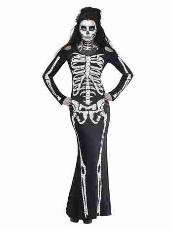 SKELELICIOUS Adult Women Costume