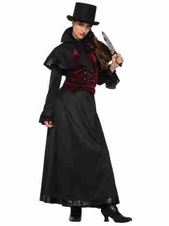 Women's Jackie the Ripper Costume