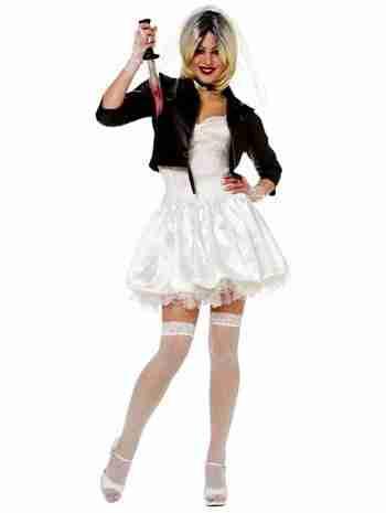 Women's Sexy Bride of Chucky Costume