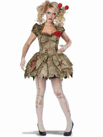 Women's Sexy Voodoo Dolly Costume