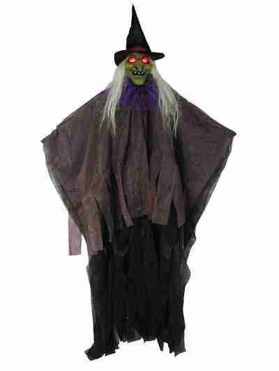 57 Inch Light Up Witch Prop