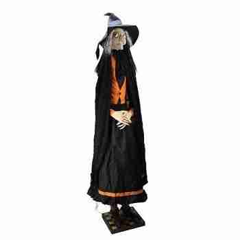 "75.5"" Gathered Traditions Zelda the Witch Decorative Life Size Halloween Figure"