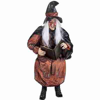 Life Size Talking Storytelling Witch with Light-Up Eyes
