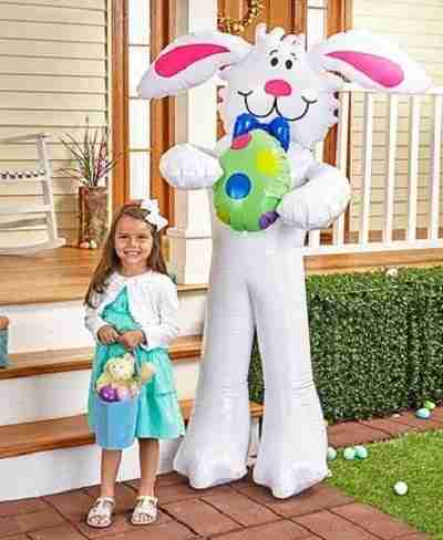 Giant Inflatable Easter Bunny