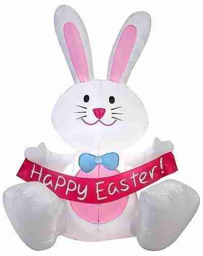 3.5 Ft Easter Bunny Inflatable