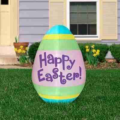 5.5 ft Airblown Inflatable Easter Egg