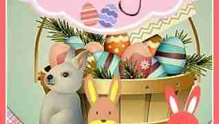 Easter Bunny Rabbit Figurine Decorations