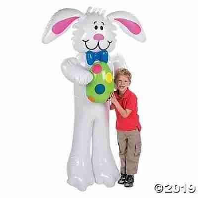 Jumbo Inflatable Easter Bunny