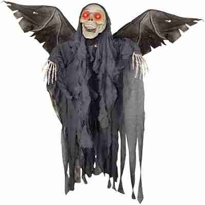 4Ft 2 Inch Animated Winged Reaper