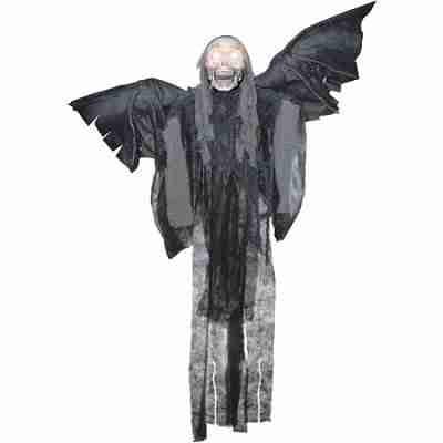 60 Inch Hanging Talking Winged Reaper Halloween Prop