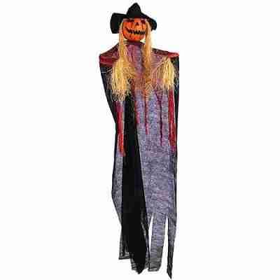 60 Inch Pumpkin Hanging Prop Halloween Decoration