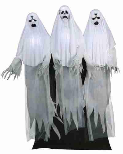 6 Ft Spooky Ghost Trio Animatronics – Decorations