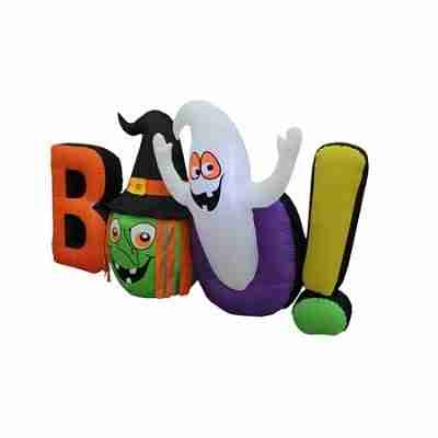 Halloween Inflatable Witch Ghost BOO