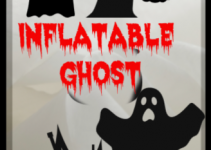 Airblown Large Inflatable Ghost