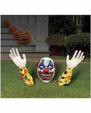 1.2 Ft Evil Clown Ground Breaker