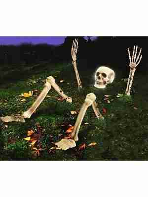 Light Up Skeleton From Ground Prop