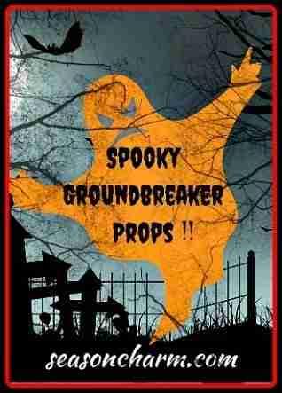 spooky groundbreaker Halloween props
